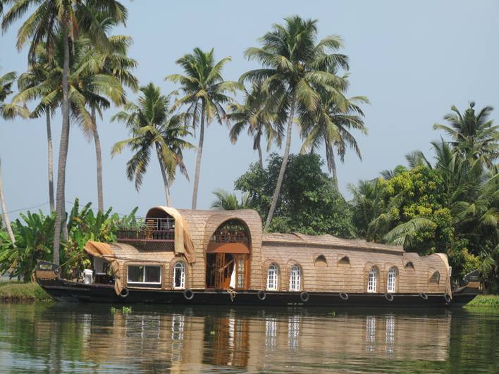Indien-Kerala-Backwaters