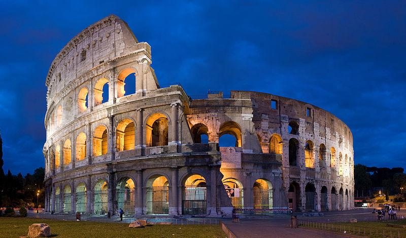 Italien-Rom-Kolloseum