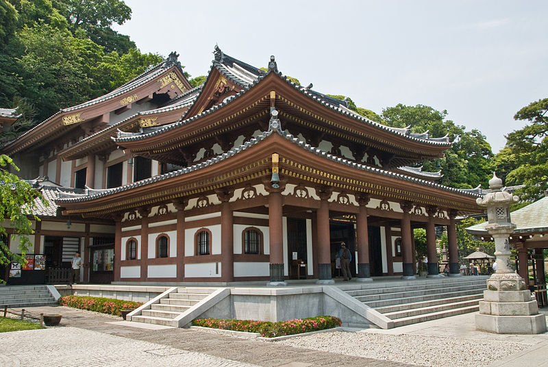 Hasedera Temple - Haupthalle
