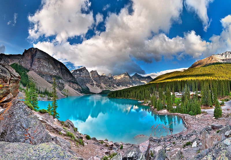 Banff National Park-Moraine Lake