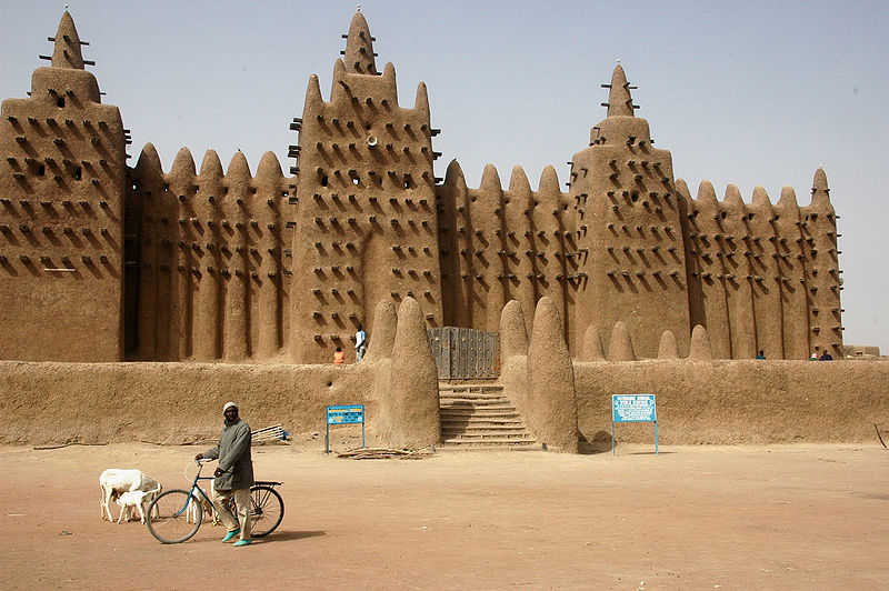 Mali - Mopti - Djenne - Great Mosque