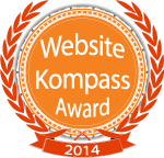 Award von Website-Kompass